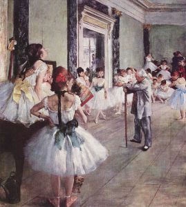 Lekcja tańca