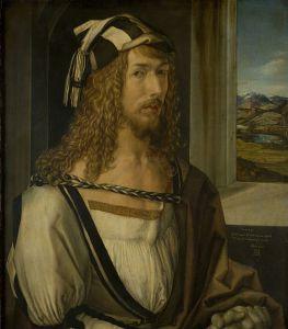 Albrecht Dürer - Autoportret