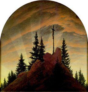Krzyż w górach