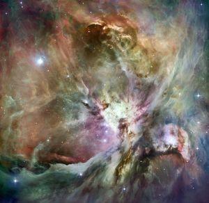 mgławica w gwiazdozbiorze Oriona