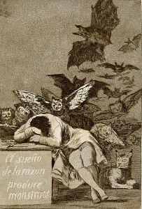 Gdy rozum śpi, budzą się demony