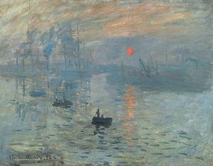 Impresja, wschód słońca