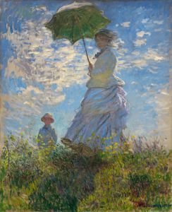 Kobieta z parasolką