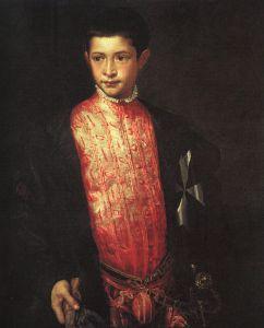 Portret Ranuccio Farnese